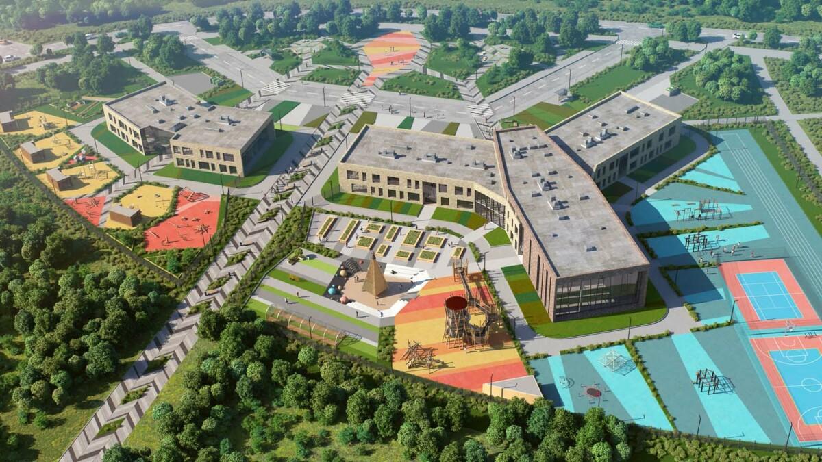 В Доброграде начали строительство детского сада и школы
