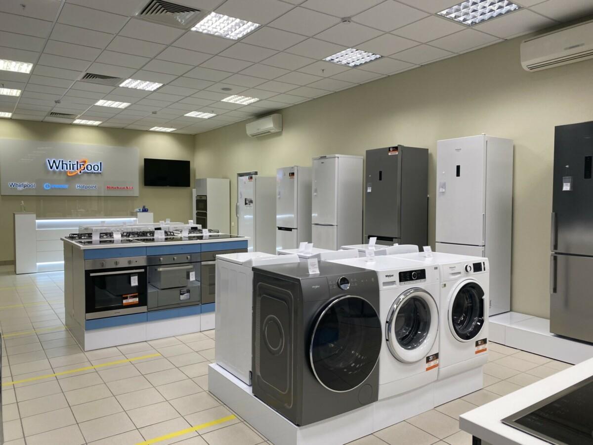 Whirlpool открывает новый магазин и сервис техники в Санкт-Петербурге