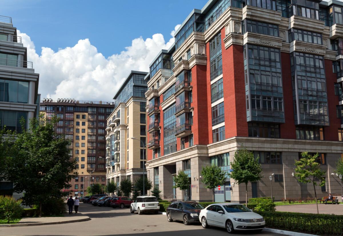 В старой Москве осталось 4% малоквартирного жилья класса бизнес