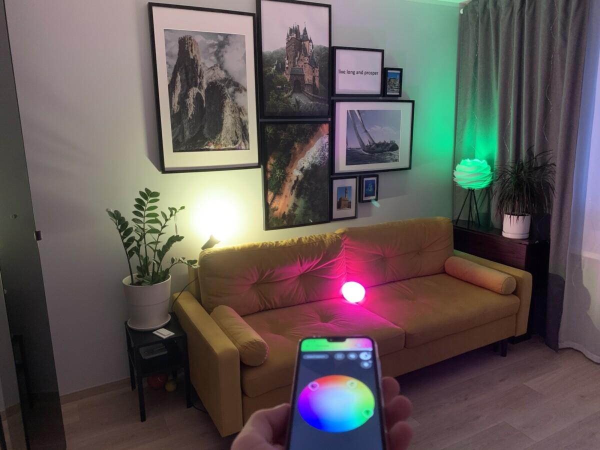 Обзор набора «умных» лампочек Philips Hue и светильника Hue Go