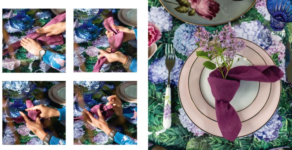 Открыт предзаказ на книгу Анны Муравиной об искусстве сервировки стола
