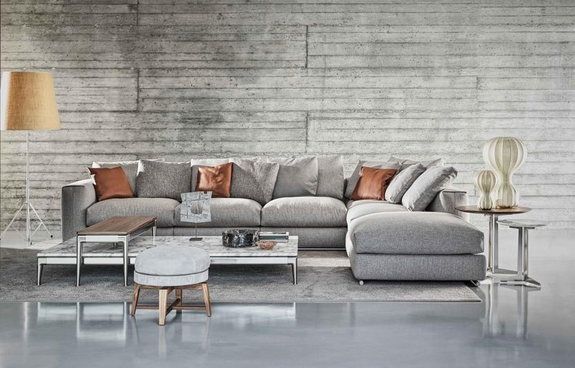 Чем отличается новый диван Flexform, у которого нет углов