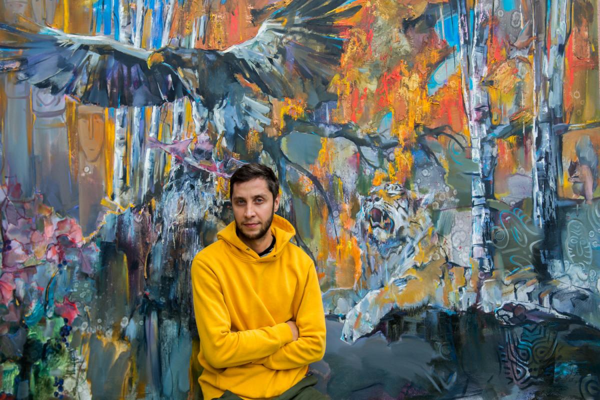В гостях у Roomble Иван Федотов — профессиональный художник-живописец