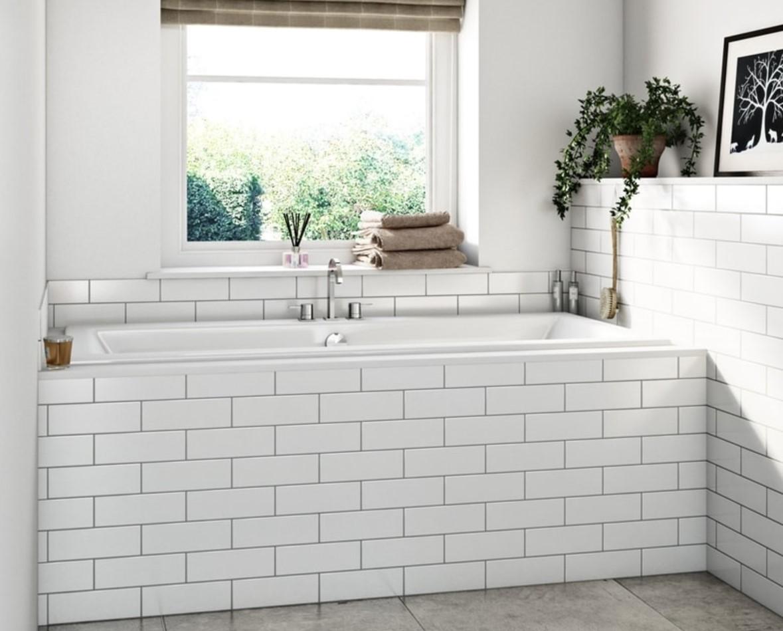 Как красиво вписать ванну в интерьер ванной комнаты: 10 вариантов экрана для ванны