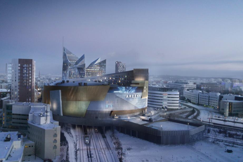 В Тампере для Чемпионата мира по хоккею 2022 возвели ледовую арену
